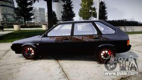 VAZ-2109 alloy for GTA 4 left view