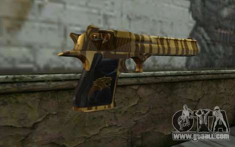 Desert Eagle Gold v1 for GTA San Andreas second screenshot