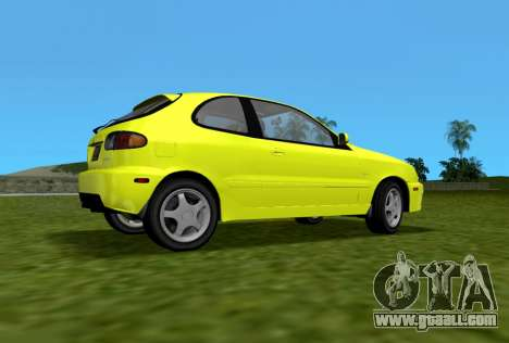 Daewoo Lanos Sport US 2001 for GTA Vice City left view