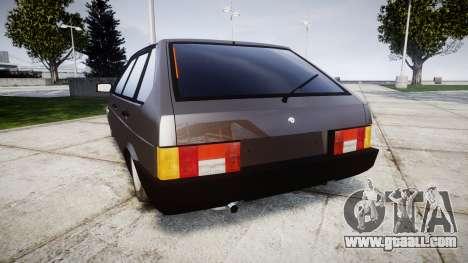 VAZ-2109 Nine for GTA 4 back left view