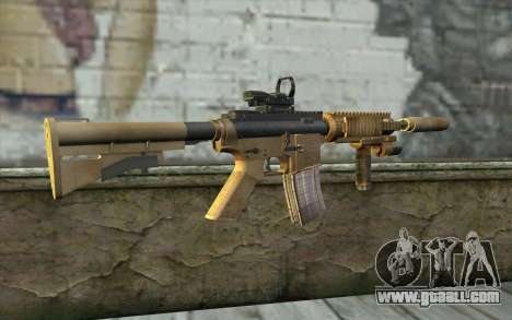 M4A1 Sopmod for GTA San Andreas second screenshot