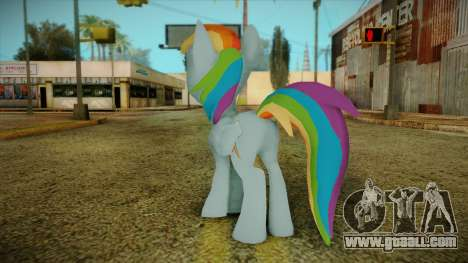 Rainbow Dash from My Little Pony for GTA San Andreas second screenshot