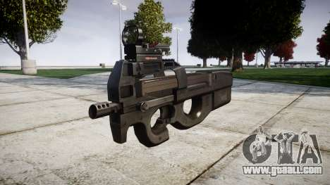 Belgian submachine gun, FN P90 target for GTA 4