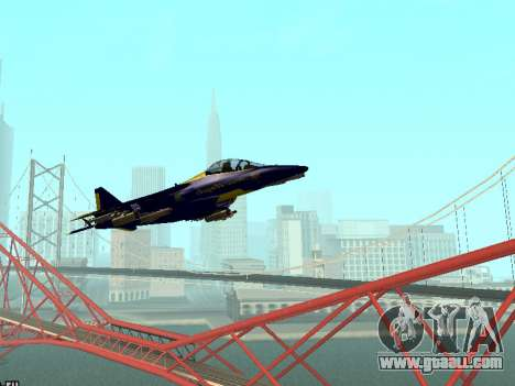 BlueAngels Hydra for GTA San Andreas left view