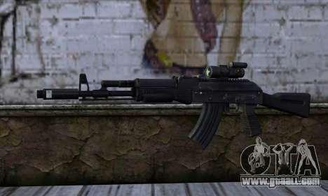 AK-103 Ravaged for GTA San Andreas