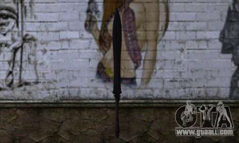 Unnamed Sword for GTA San Andreas second screenshot