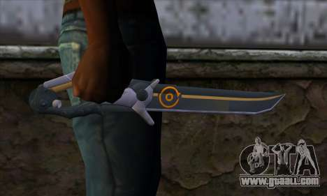 Olga Knife from Remember Me for GTA San Andreas third screenshot