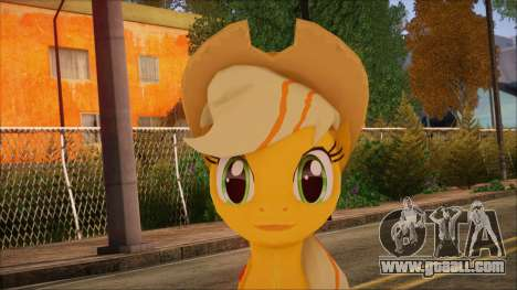 Applejack from My Little Pony for GTA San Andreas third screenshot