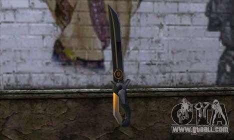 Olga Knife from Remember Me for GTA San Andreas second screenshot
