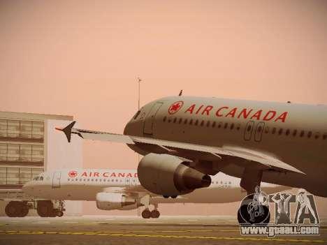 Airbus A320-214 Air Canada for GTA San Andreas wheels