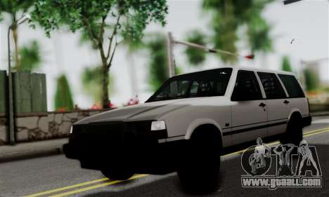 Volvo 940 for GTA San Andreas back left view