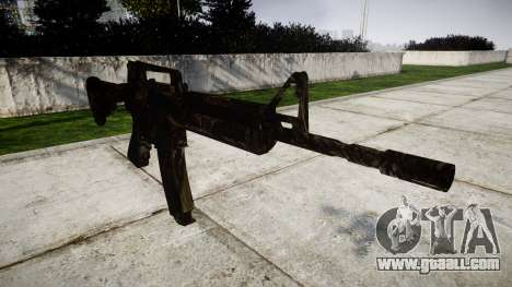 The M4 carbine CQB for GTA 4
