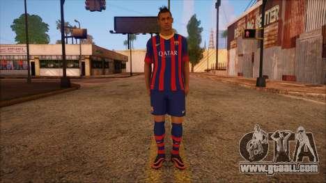 Neymar Skin for GTA San Andreas