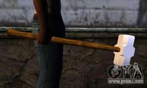 Sledgehammer for GTA San Andreas third screenshot