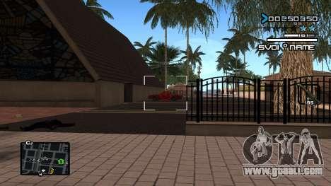 C-HUD Minimal for GTA San Andreas second screenshot