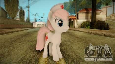 Nurseredheart from My Little Pony for GTA San Andreas
