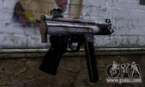 Tec9 from Call of Duty: Black Ops for GTA San Andreas second screenshot