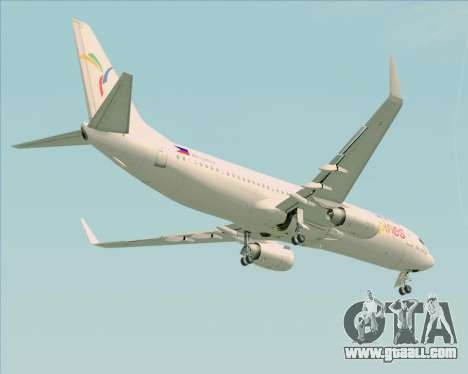 Boeing 737-800 South East Asian Airlines (SEAIR) for GTA San Andreas side view