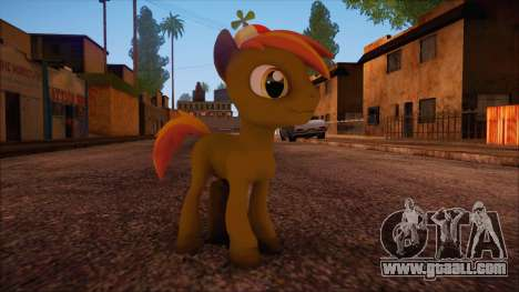 Button Mash from My Little Pony for GTA San Andreas