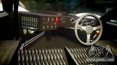 Ford GT40 Mark IV 1967 PJ Mudino 72 for GTA 4 back view