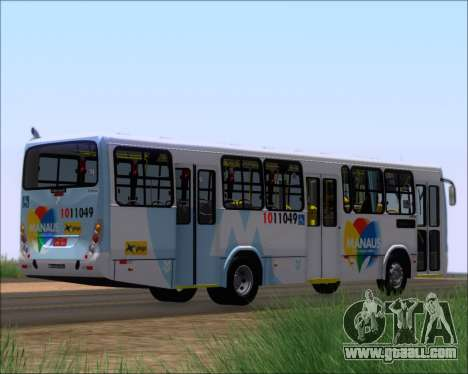 Marcopolo Torino G7 2007 VEGA Manaus 1011049 for GTA San Andreas back left view