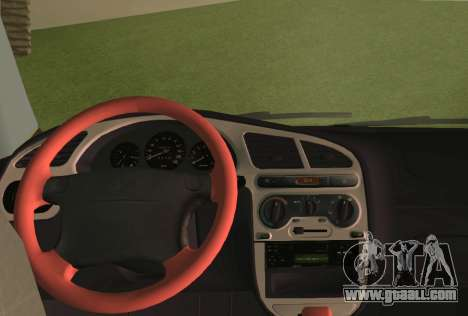 Daewoo Lanos Sport US 2001 for GTA Vice City bottom view