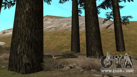 Трасса Offroad v1.1 by Rappar313 for GTA San Andreas third screenshot