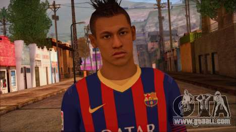 Neymar Skin for GTA San Andreas third screenshot