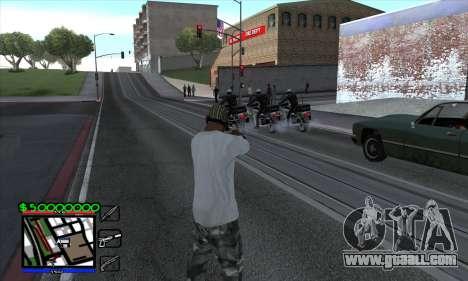 C-HUD by Niko for GTA San Andreas