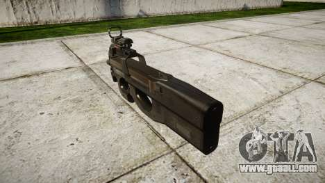 Belgian submachine gun, FN P90 target for GTA 4 second screenshot