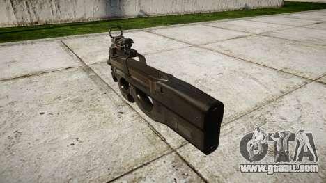 Belgian submachine gun, FN P90 target for GTA 4 second screenshot