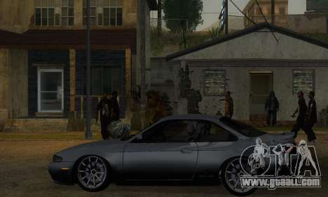 Nissan Silvia S14 Zenki Drift for GTA San Andreas back left view