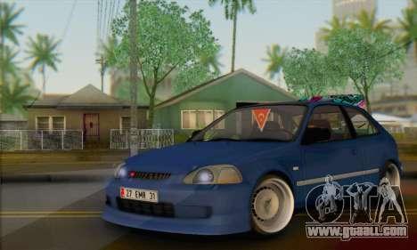 Honda Civic V Type EMR Edition for GTA San Andreas
