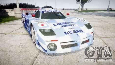 Nissan R390 GT1 1998 for GTA 4