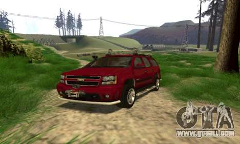 Chevrolet Tahoe Final for GTA San Andreas