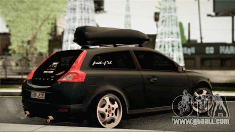 Volvo C30 Stanced for GTA San Andreas left view