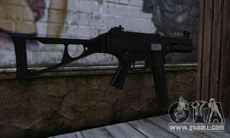 UMP45 v2 for GTA San Andreas second screenshot