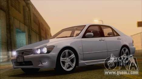 Toyota Altezza (RS200) 2004 (HQLM) for GTA San Andreas