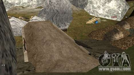 Трасса Offroad v1.1 by Rappar313 for GTA San Andreas ninth screenshot