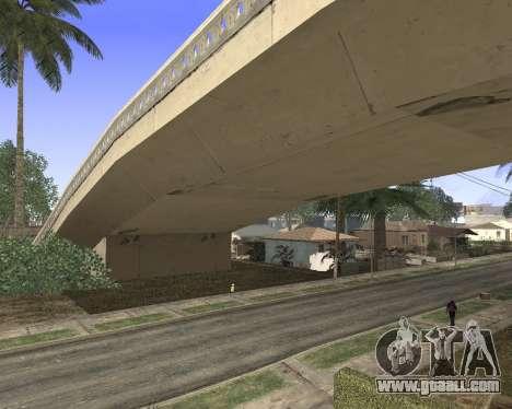 Texture Los Santos from GTA 5 for GTA San Andreas third screenshot