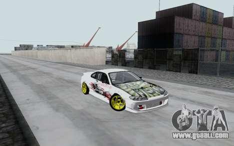 Nissan Silvia S15 VCDT for GTA San Andreas