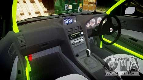 Nissan Skyline R34 GT-R V-Spec [RIV] for GTA 4 back view
