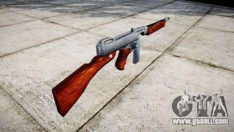 Submachine gun Thompson M1A1 box icon1 for GTA 4 second screenshot