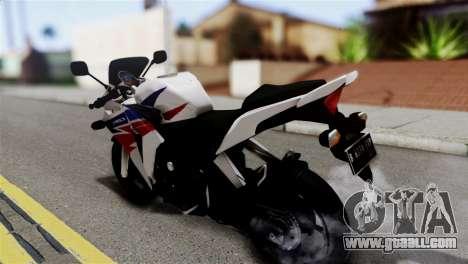 Honda CBR150FI for GTA San Andreas left view