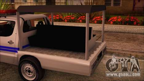 Toyota HiLux Philippine Police Car 2010 for GTA San Andreas right view