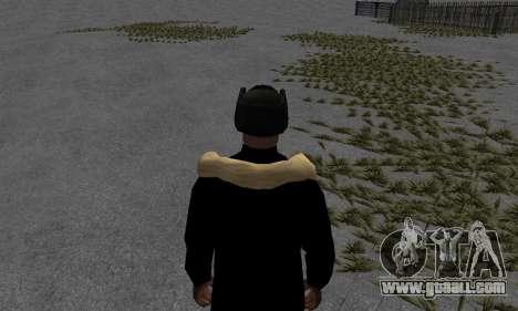 Winter jacket for GTA San Andreas third screenshot