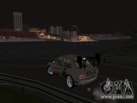 Mitsubishi Lancer Evo 9 VCDT for GTA San Andreas left view