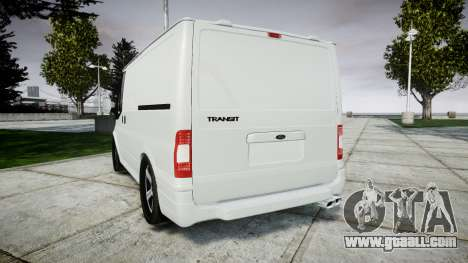 Ford Transit 2011 SuperSportVan for GTA 4 back left view