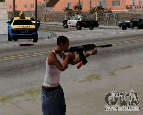 Heavy Shotgun GTA 5 (1.17 update) for GTA San Andreas third screenshot
