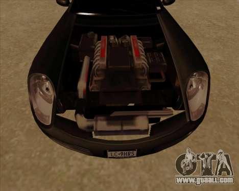 Stinger for GTA San Andreas inner view
